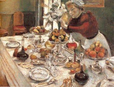 Dinner Table Henri Matisse