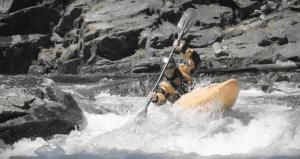 Washington glamping kayaking
