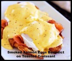 Eggs Benedict Mother's Day recipe