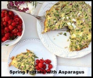 Frittata Mother's Day recipe