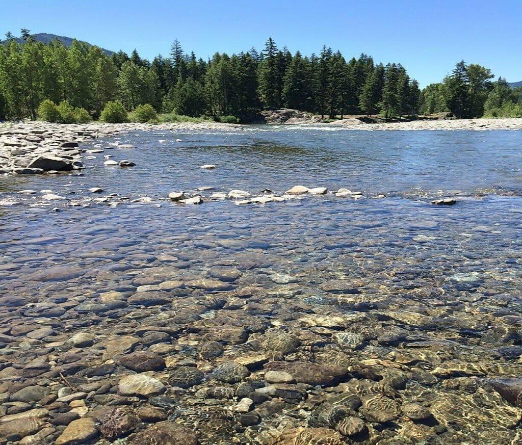 Washington river