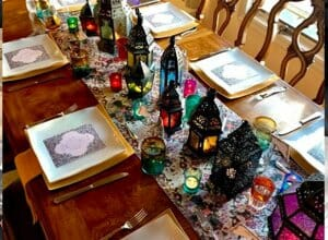 Moroccan dinner party