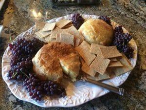 Brie en Croute Grapes