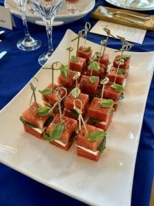 Watermelon Feta Stacks