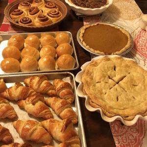 Chef Ruben baked goods