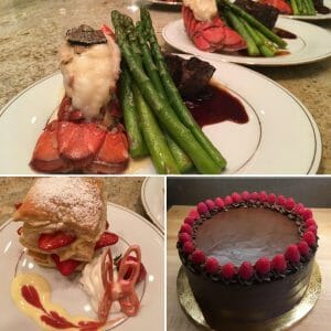 Chef Ruben dinner party