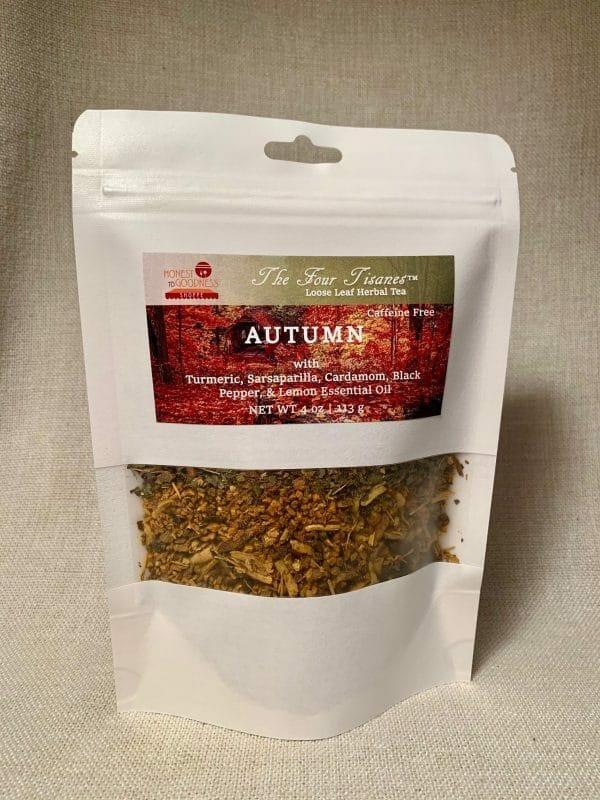 autumn wellness tea