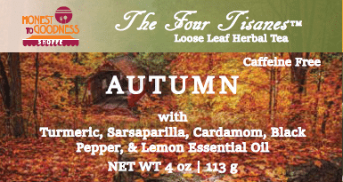 autumn wellness tea