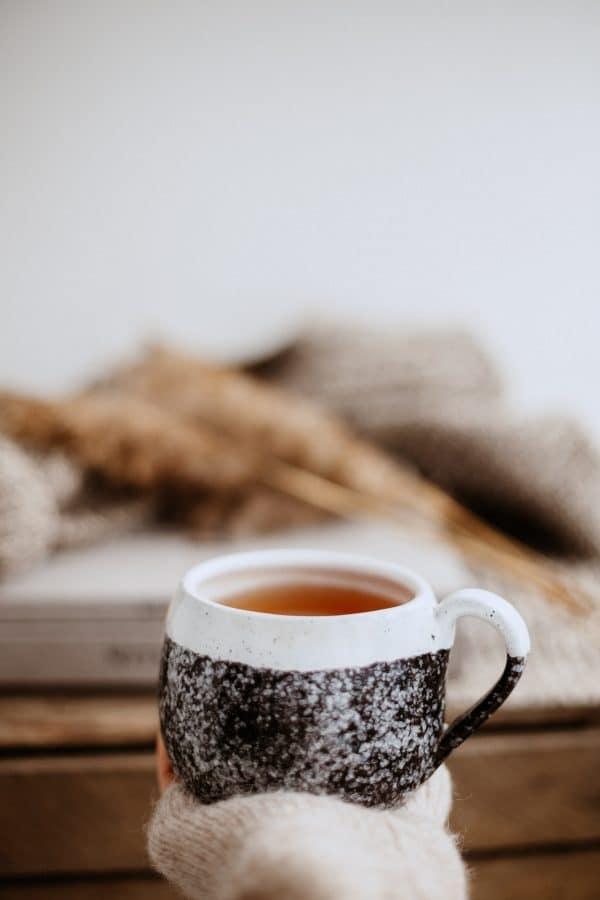 winter holiday tea