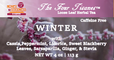 winter holiday tea