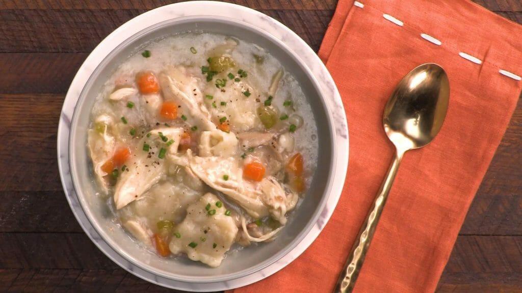 Chicken Dumplings Comfort Food Recipes