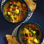 Moroccan Lentil Stew Comfort Food Recipes