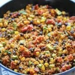 One Pan Mexican Quinoa Comfort Food Recipes