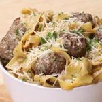 Swedish Meatball Pasta Comfort Food Recipes