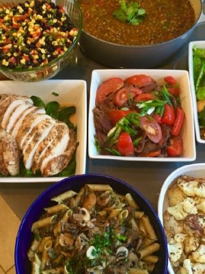 Seattle chef meal delivery weekday dinners